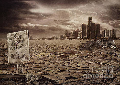 The End of Detroit by Kelley Freel-Ebner