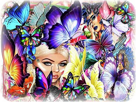 The Fantasy World Of The Butterfly Queen by Debra Lynch