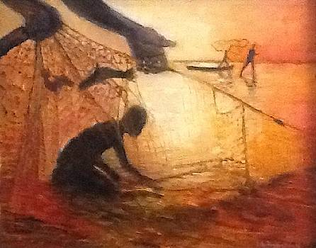 The Fishermen by Lilly Ramphal