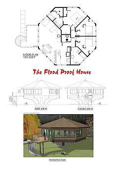 The Flood Proof House by Robert Bissett