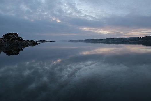 The fog lightens by Magnus Haellquist