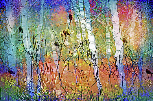 The Forest Leans In To Listen To All The Things We Can Not Say by Tara Turner