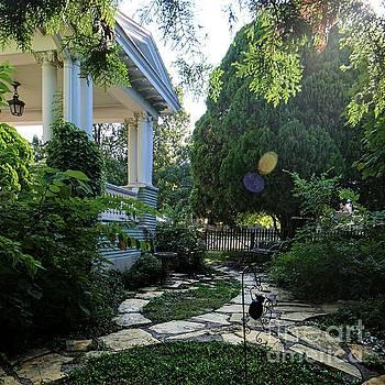 The Garden at Magnolia Blossom Inn by Jenny Revitz Soper
