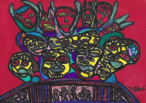 Gathering of the Multitude by Darrell Black