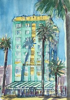 The Georgian Hotel, Santa Monica by Virginia Vovchuk