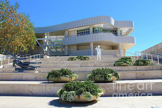 The Getty Centre Los Angeles California by Nina Silver