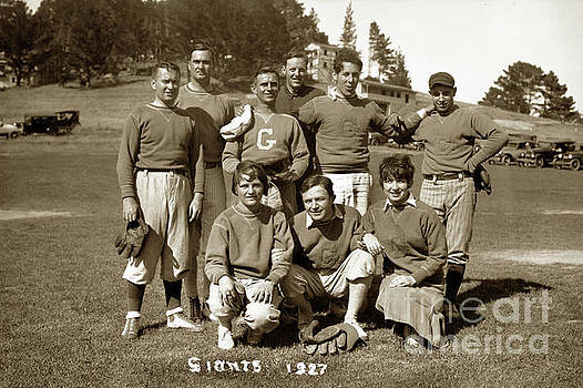 California Views Archives Mr Pat Hathaway Archives - The Giants softball team, including Jo Mora,  Carmel, Calif. 192