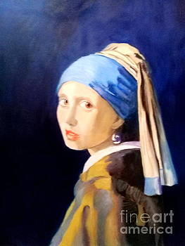The Girl With The  Pearlearring by Dagmar Helbig