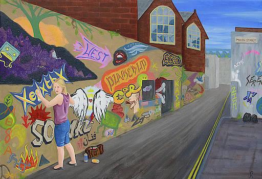 The Graffiti Faerie by Gemma Beynon