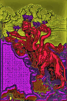 The Great Red Dragon. Albrecht Durer. by Andy Za