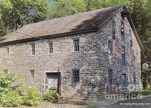 The Grist Mill In Summer by Tami Quigley