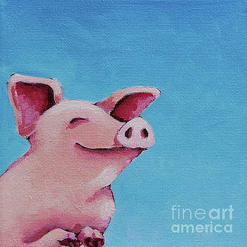 The happiest Pig by Lucia Stewart