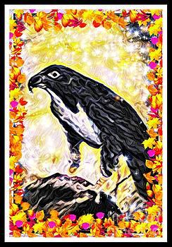 The Hawk As Art by Debra Lynch