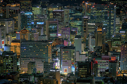 The Heart of Seoul by Rick Berk
