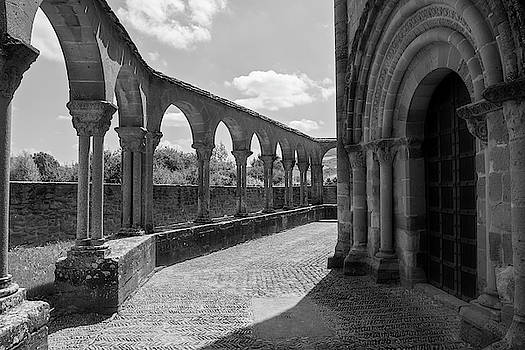 The hermitage of Santa Maria de Eunate on the road to Santiago by Vicen Photography