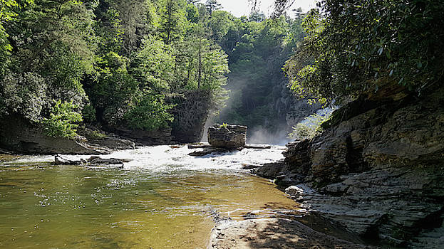 The Hidden Falls by Lisa Bates