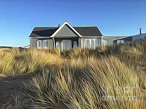 The House in the Marram by John Edwards