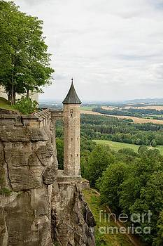 Patricia Hofmeester - The Hunger tower of the medieval Konigstein Fortress in Germany