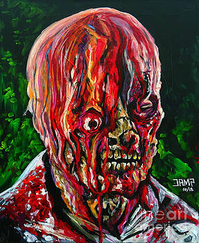 The Incredible Melting man by Jose Mendez