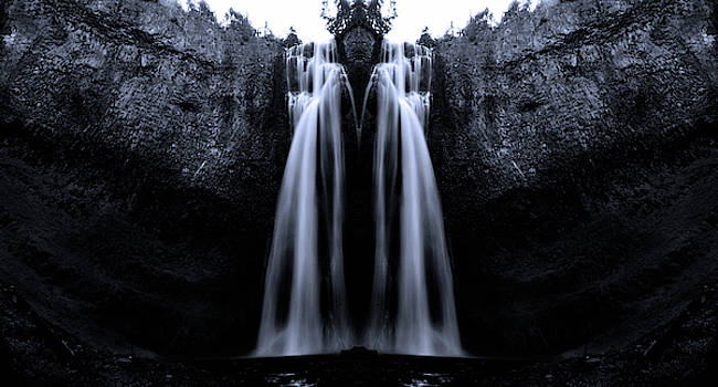 Pelo Blanco Photo - The King of Salt Creek Falls
