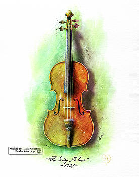 The Lady Blunt Stradivarius V. 1 by Gary Bodnar