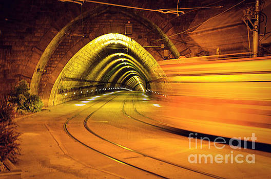 The light at the end of the tunnel  by Yavor Mihaylov