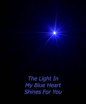 The Light In My Blue Heart by Hanne Lore Koehler