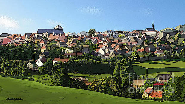 The little city by Christian Simonian