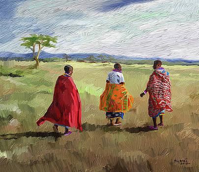 The Long Walk by Anthony Mwangi