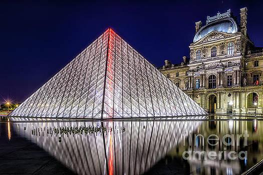 The Louvre Pyramid by Johan Vanbockryck