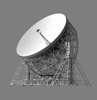 The Lovell Telescope at Jodrell Bank by Nick Stevens