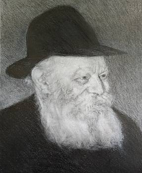 The Lubavitcher Rebbe # 3 by Michael Bloom