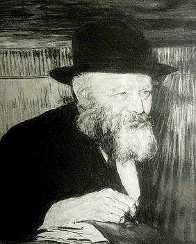 The Lubavitcher Rebbe #1  by Michael Bloom