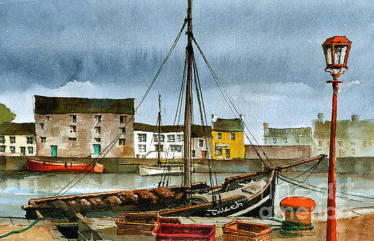 Val Byrne - The MacDuach at rest in Kinvara