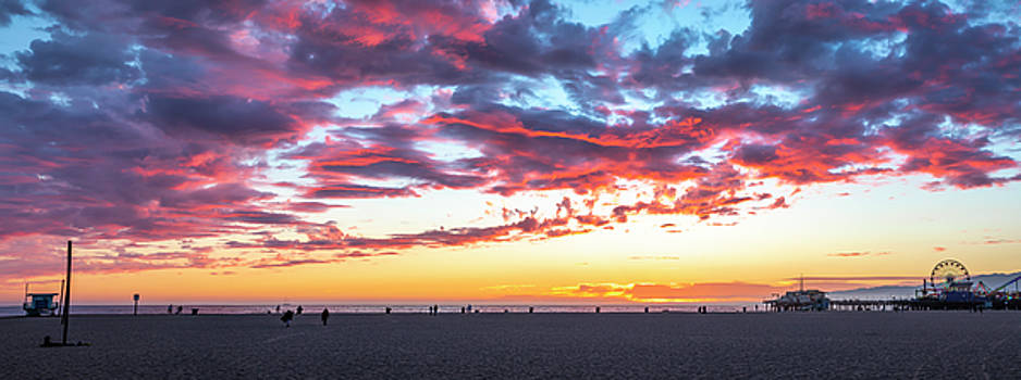 The Magic Hour - Panorama by Gene Parks