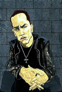 The Marshall Mathers AP - Eminem by Ebenlo - Painter Of Song