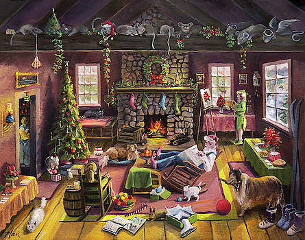 The Micey Christmas Heisty by Nancy Griswold