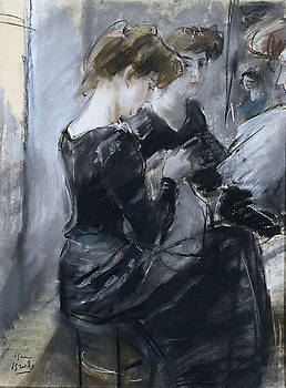 The Miliner by Isaac Israels