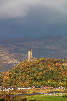 The National Wallace Monument by Elizabeth Dow