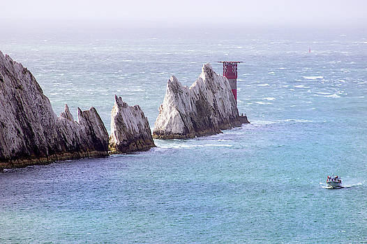 The Needles Lighthouse by Martin Newman