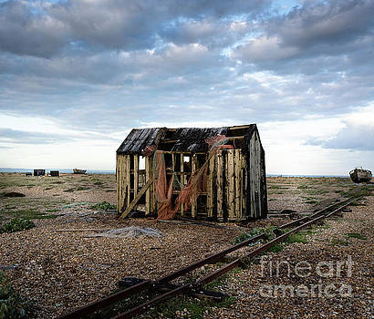 The Net Shack, Dungeness Beach by Perry Rodriguez