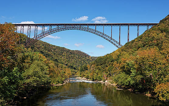 The New River Gorge Bridge by Jim Vallee