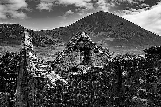 Murrisk abbey at the bottom of Croagh Patrick by Alan Campbell