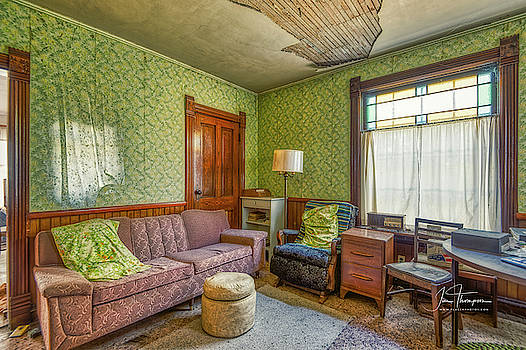 The Old Farmhouse Living Room by Jim Thompson