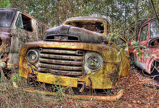 The Old Ford Truck by Jeffrey PERKINS