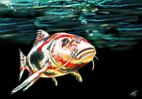 The Old Koi by Andreas Theis