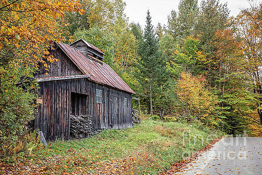 Edward Fielding - The Old Maple Sugar Shack Vermont