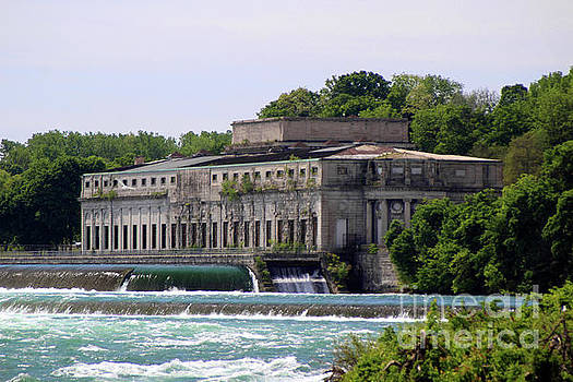 The Old Power Plant by the Top of Horseshoe Falls by Doc Braham