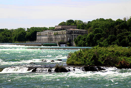 The Old Power Plant by the Top of Niagara Falls by Doc Braham