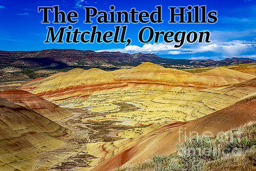 The Painted Hills Mitchell Oregon by G Matthew Laughton